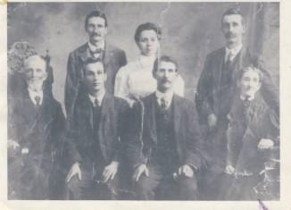 historic family photo