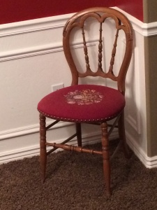 inherited antique chair