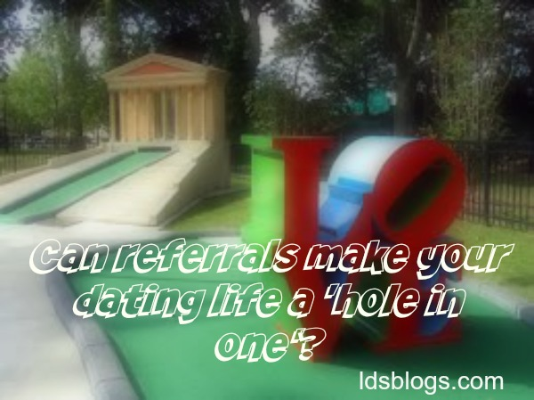 Can you find a great guy on a mini golf date?