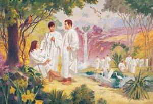 premortal life in heaven