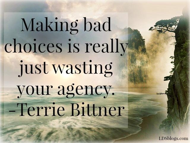Agency: Don't Waste it
