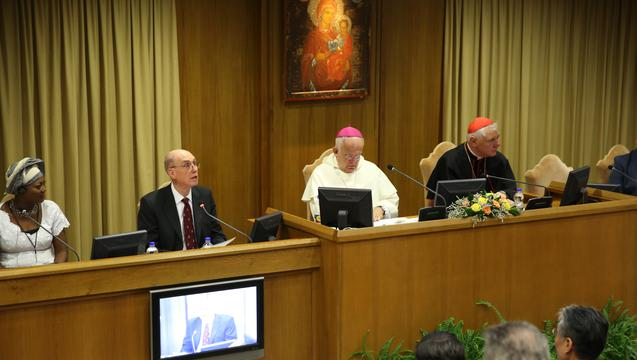 President Eyring at the Vatican