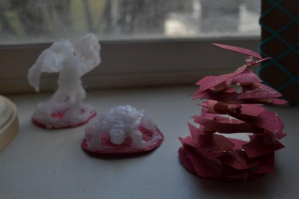Glue Sculpture: H G Well