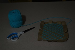 materials for string art project