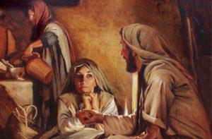 Mary Martha Jesus Mormon LDS