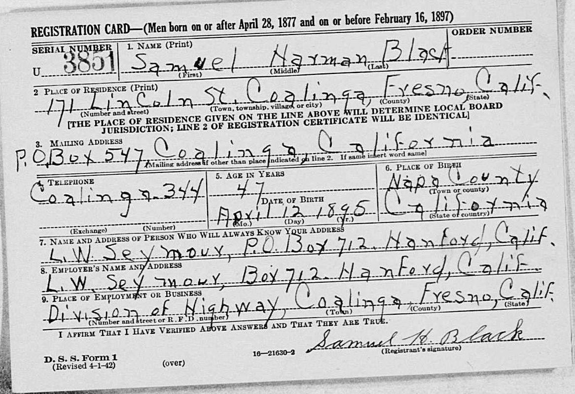 genealgoy records