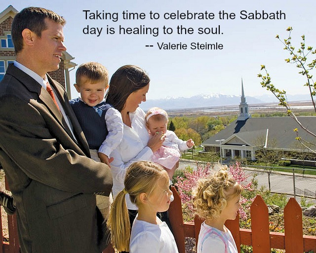 Taking Time for the Sabbath