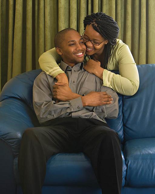 Black Mormon couple