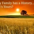 every family has a history meme