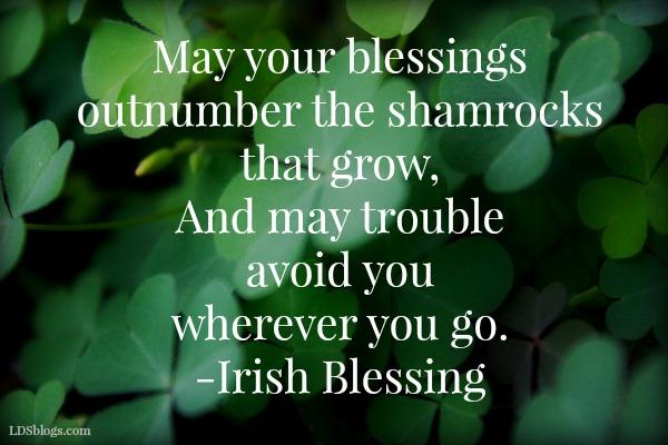 Irish blessing lds blogs irish blessing m4hsunfo