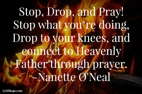 """The world is on fire! Stop, drop—and pray"""