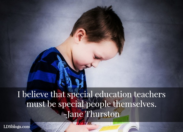 Special Education Teachers Matter