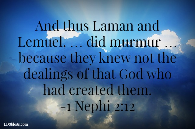 Laman And Lemuel And Their Challenge To Us