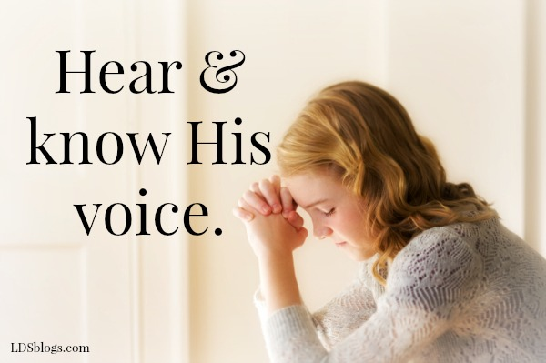 Recognizing The Voice Of The Lord