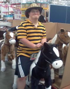 Joe on horse