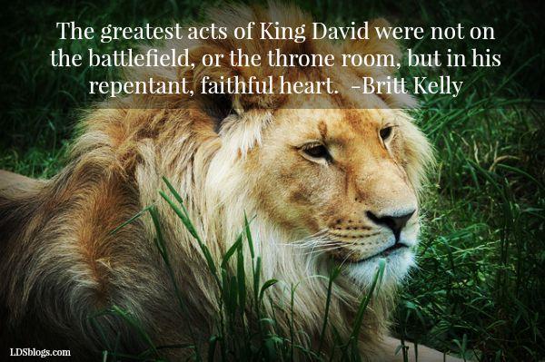 Wanting To Be Like King David