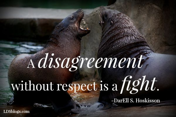 Disagreeing Respectfully