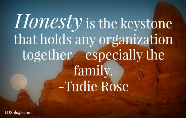 Honesty Is the Keystone