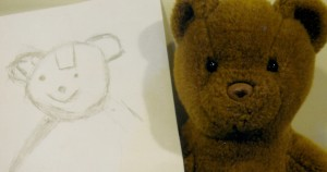 Joeys artwork bear