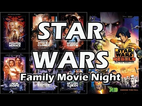 Family Movie Night: Star Wars