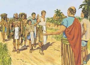 People of Zarahemla are welcomed.