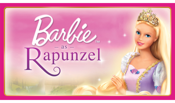 Family Movie Night: Barbie As Rapunzel