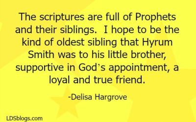 Relationships of Siblings in the Scriptures