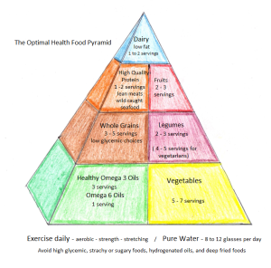 The Optimal Health Food Pyramid