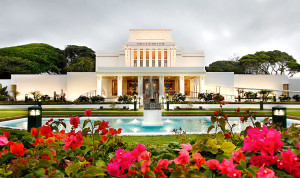 Laie Hawaii LDS Temple