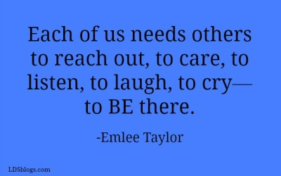 BE Someone Who Cares