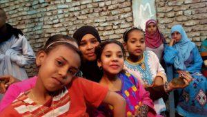 Elhina girls in Luxor