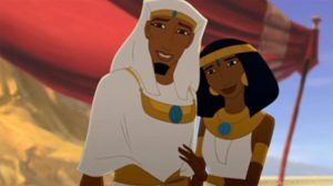 """Joseph and Asenath from the movie """"Joseph King of Dreams"""""""