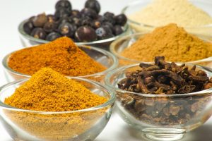 Spices have a strong flavor, and a little goes a long way.