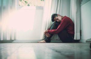 sad anxious