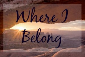 where I belong lauren mckinnon