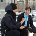 men talking friends