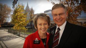 senior missionary couple