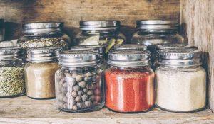 pantry shelf food storage