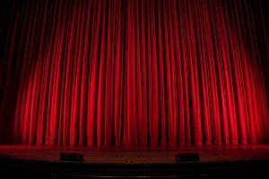 stage behavior curtains