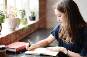 learn, journal, write