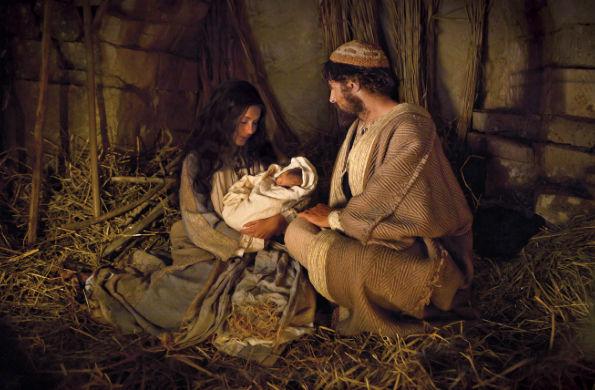 Mary and Joseph nativity Mormon