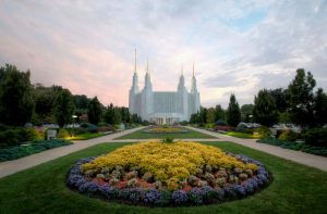 washington dc mormon temple grounds