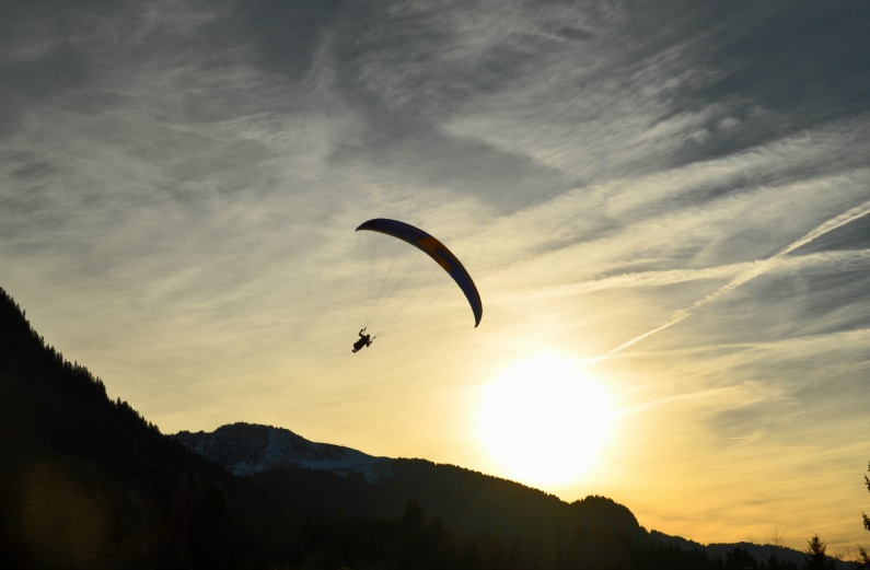 The Parable of the Parachute: Choosing to Be Uplifted