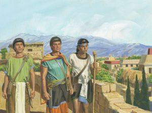 nephites leaving prison to preach the gospel