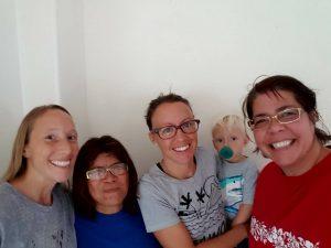 Nancy, Flora, Tabbi, Delisa