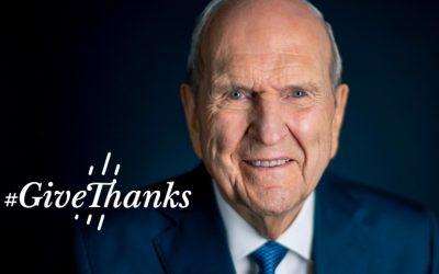 Russell M Nelson's Global Prayer of Gratitude