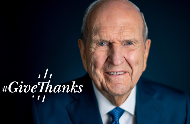 Russell M Nelson's Global Prayer of Gratitude