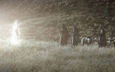 Light and a Heavenly Host Praising God